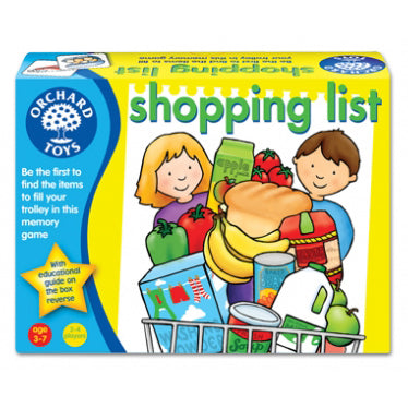 orchard toys shopping list game - Chalk