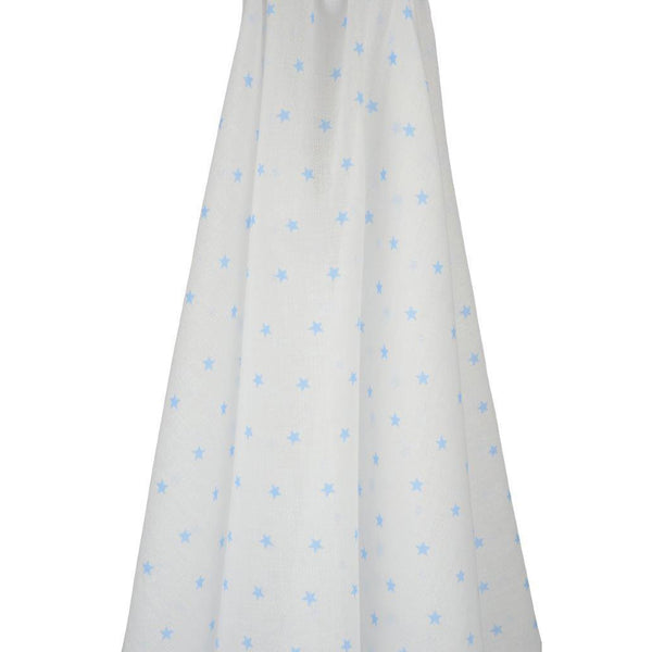 Emotion & Kids Muslin Stars Blue - Chalk