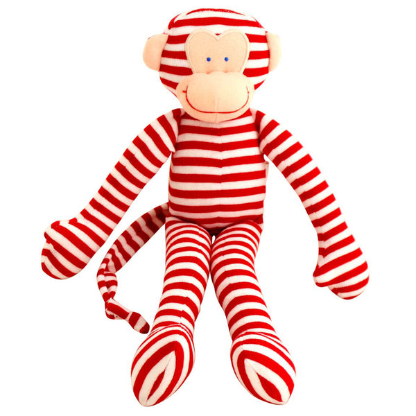 Alimrose Rattle Monkey Red - Chalk Melbourne