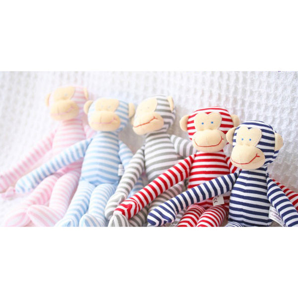 alimrose rattle monkey red - Chalk