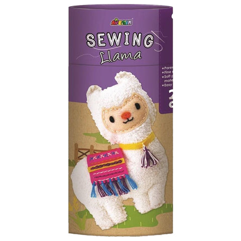 avenir sewing doll llama - Chalk