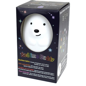 bedtime buddy night light teddy bear