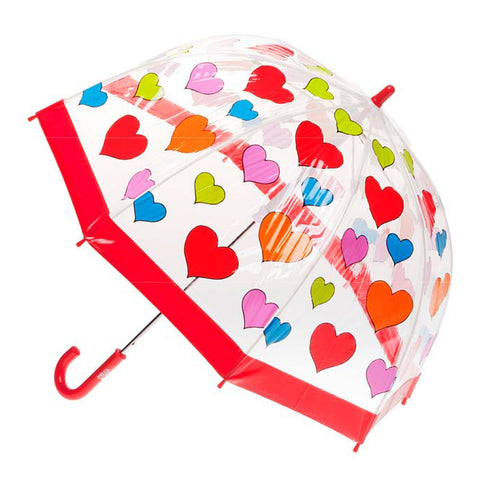 clifton brolly umbrella hearts - Chalk