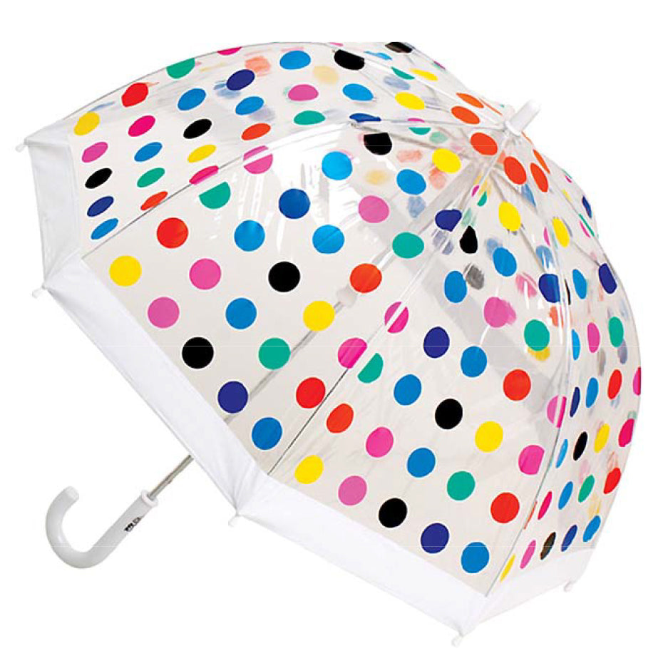 Clifton Brolly Umbrella Spots - Chalk