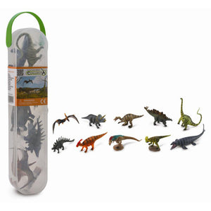 collecta 10 piece dinosaur tube no.1