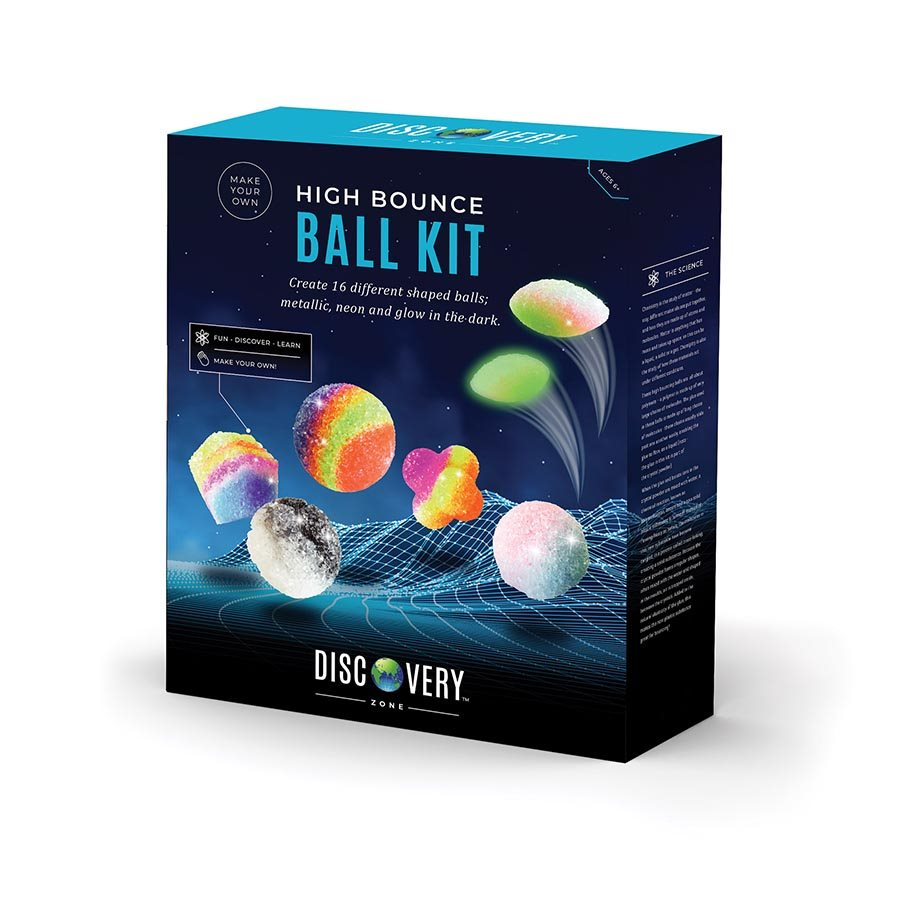 IS Discovery Zone High Bounce Ball Kit - Chalk