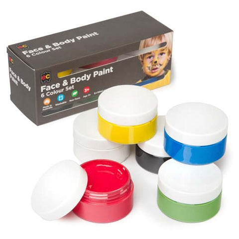 educational colours paint set face and body