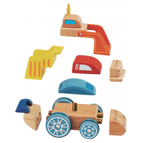 everearth interchangeable car - Chalk