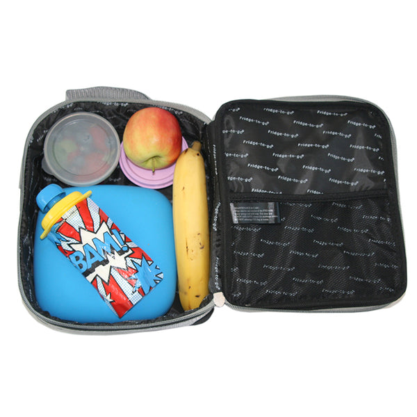 fridge to go insulated lunch bag addition - Chalk