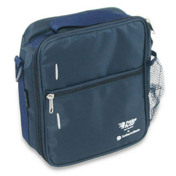 Fridge To Go Insulated Lunch Bag Navy - Chalk