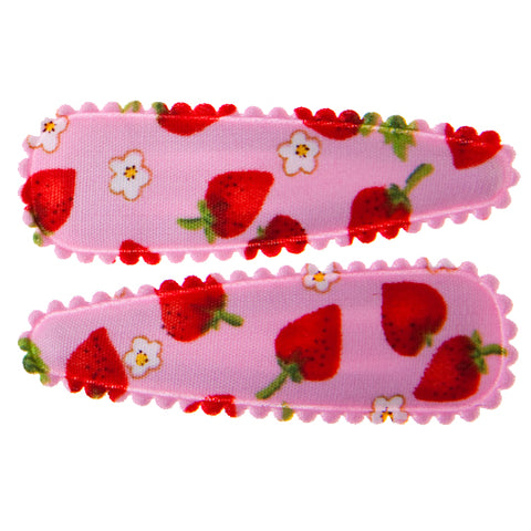 goody gumdrops hair snaps strawberry pink medium - Chalk