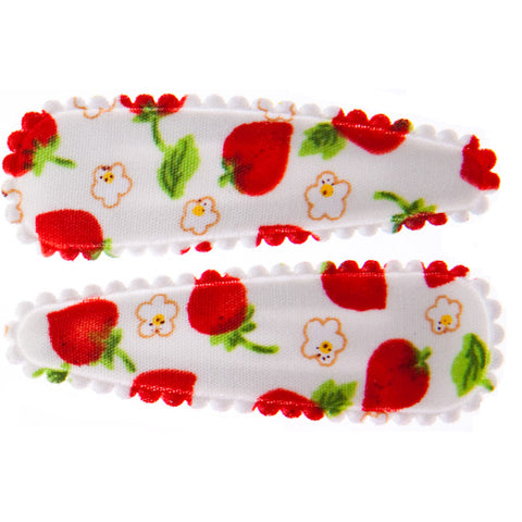 goody gumdrops hair snaps strawberry white