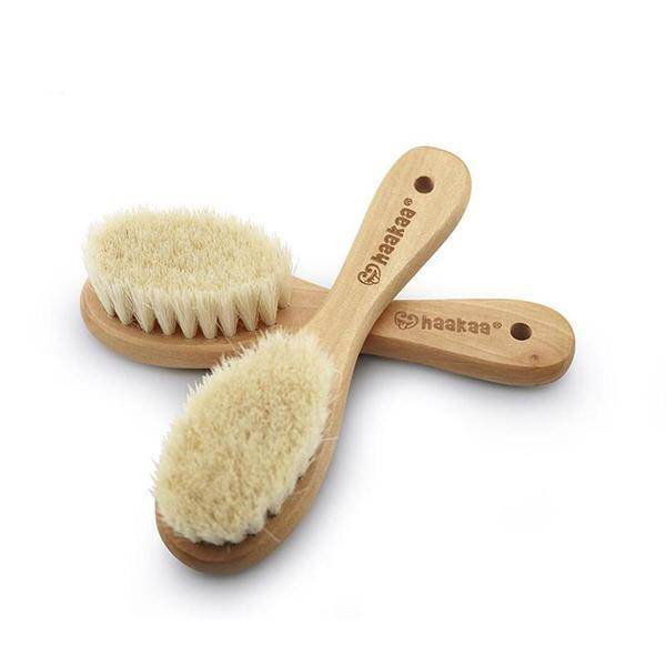 Haakaa Goat Hair Baby Brush