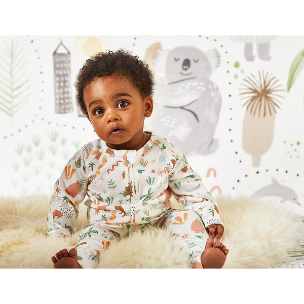 halcyon nights sleep suit outback dreamers - Chalk
