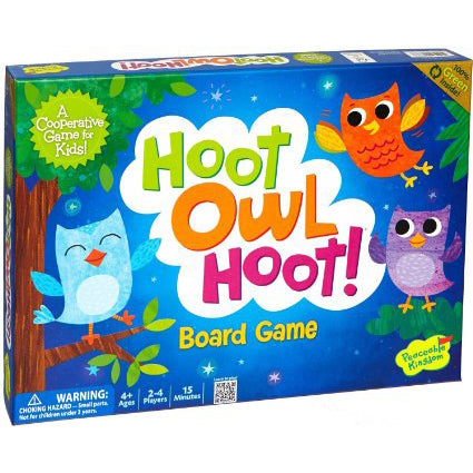 peaceable kingdom board game hoot owl hoot - Chalk