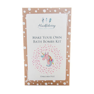 Huckleberry Bath Bombs Kit Unicorn Fizz