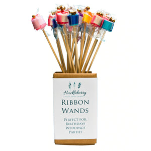 Huckleberry Ribbon Wand