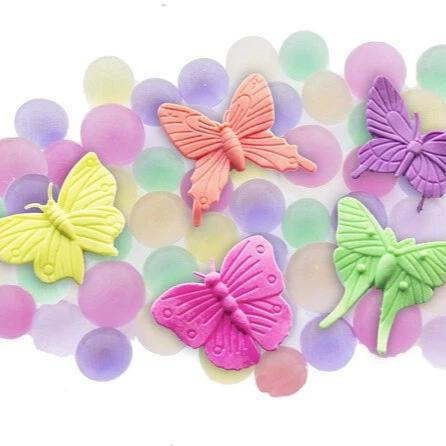 huckleberry water world butterflys - Chalk