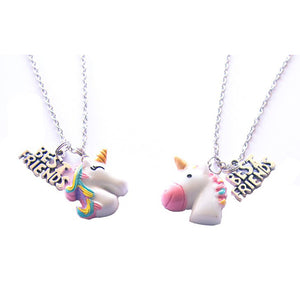 Huckleberry Make Your Own Bff Necklaces Unicorn Buddies