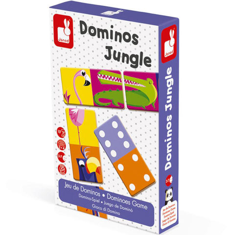 janod dominos jungle - Chalk