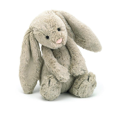 Jellycat Bashful Bunny Beige Medium - Chalk Melbourne