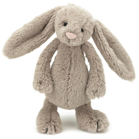 Jellycat Bashful Bunny Beige Small - Chalk Melbourne