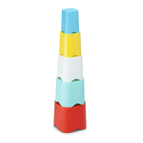 kid o stack and fit cups - Chalk