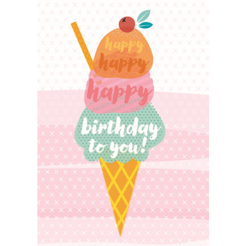Little Red Owl Card Birthday Cherry On Top