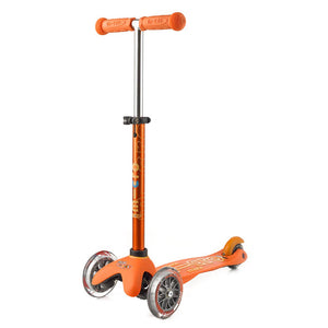 micro scooter mini deluxe orange