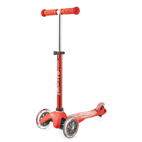 micro scooter mini deluxe red