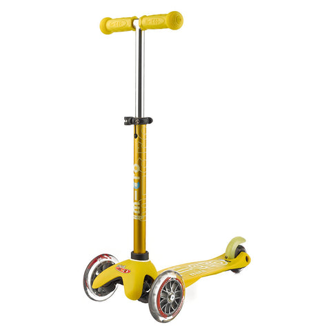 micro scooter mini deluxe yellow - Chalk