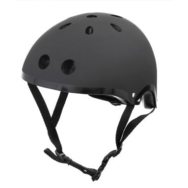 mini hornit lid kids helmet black - Chalk