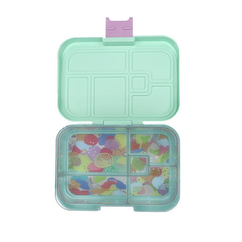 munchbox midi5 lunchbox bubblegum mint - Chalk