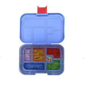 Munchbox Maxi6 Lunchbox Blue Hero