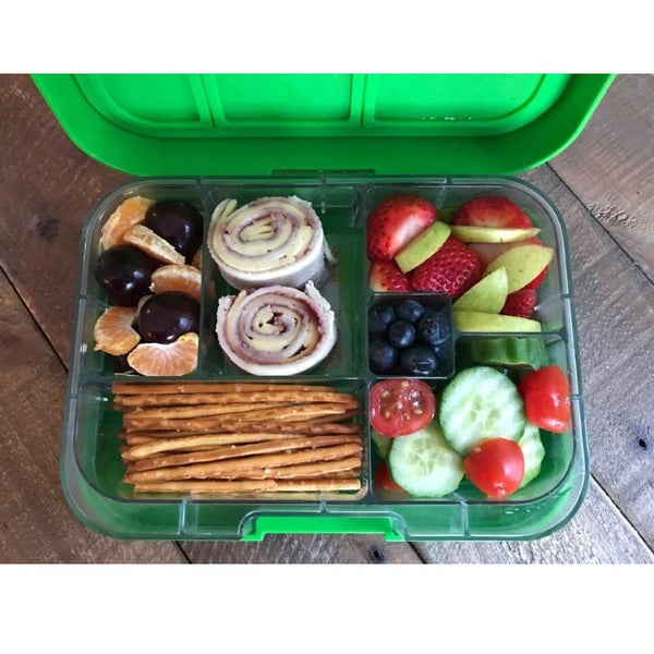 munchbox maxi6 lunchbox green jungle