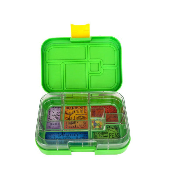 munchbox maxi6 lunchbox green jungle - Chalk