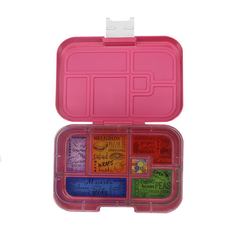munchbox maxi6 lunchbox pink princess - Chalk