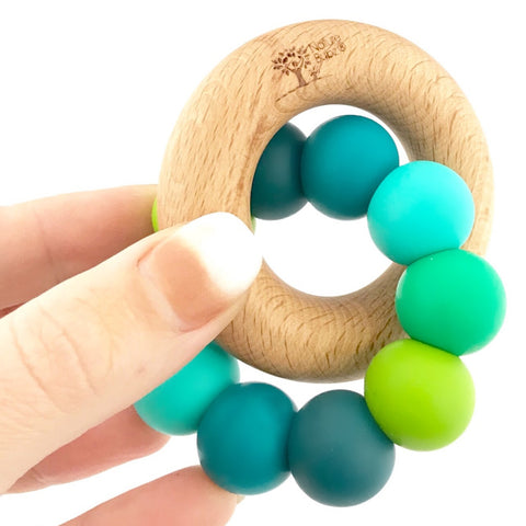 nature bubz teething toy tropical - Chalk