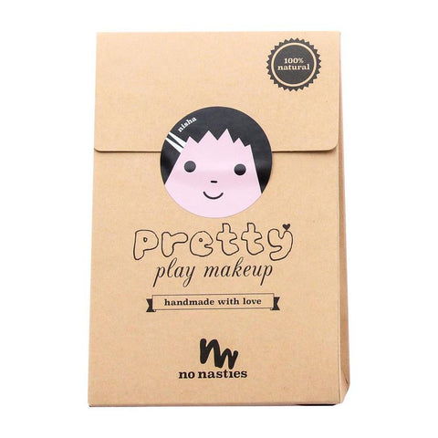 No Nasties Pretty Play Make Up Goody Pack Pink Nisha