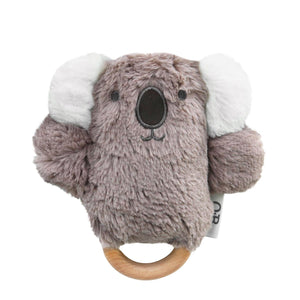 Ob Designs Dingaring Teething Rattle Kobe Koala