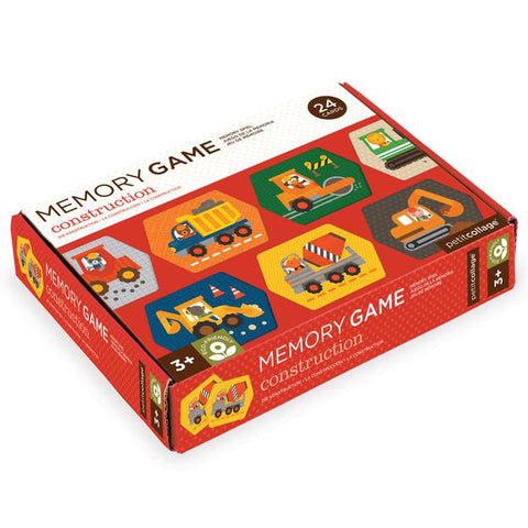 petit collage memory game construction - Chalk