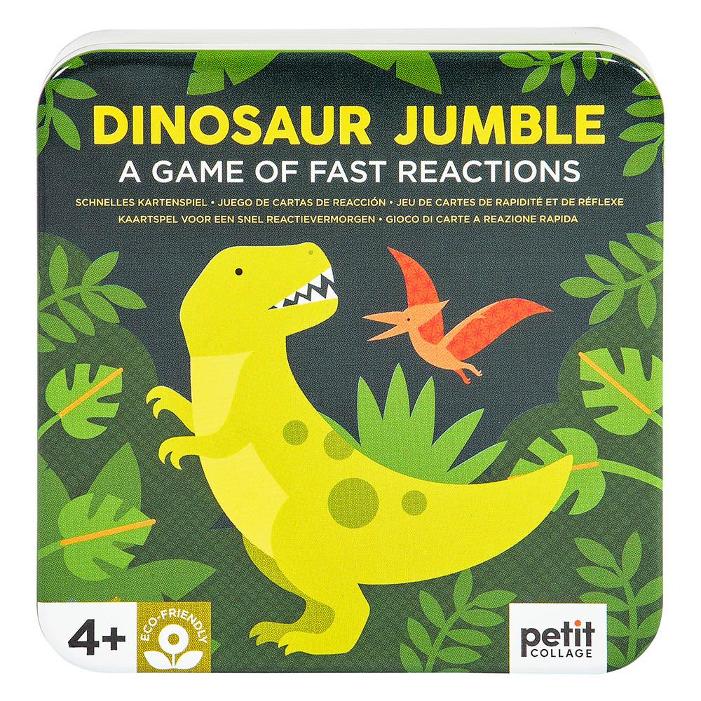 Petit Collage Dinosaur Jumble Game