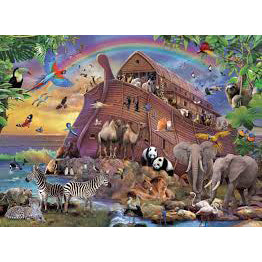 ravensburger puzzle 150pc boarding the ark - Chalk