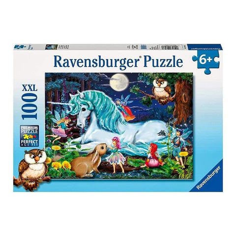 ravensburger puzzle 100pc enchanted forest - Chalk