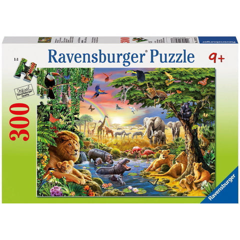Ravensburger Puzzle 300Pc At The Watering Hole