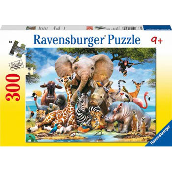 ravensburger puzzle 300pc favourite wild animals - Chalk