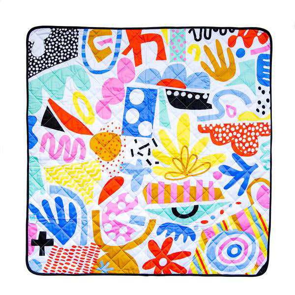 rudie nudie waterproof playmat pop pip pow - Chalk