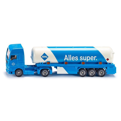 siku tanker with trailer - Chalk