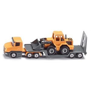 Siku Low Loader With Front Loader