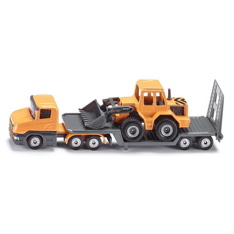 siku low loader with front loader - Chalk